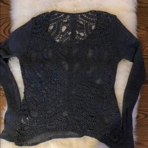 Gorgeous Margaret O'Leary Crocheted sweater.